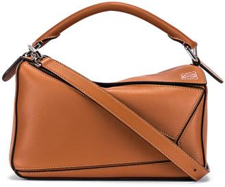 Loewe Puzzle Small Bag in Tan | FWRD