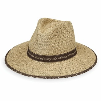 "Wallaroo Hat Company Men's Cabo Sun Hat - UPF 50+ 3 1/3"" Brim Cotton Lined Adjustable Fit Designed in Australia"
