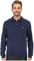 Lacoste Light Weight Fleece 1/4 Zip Sweatshirt