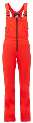 Fusalp Badia Ii Ski Salopettes - Red