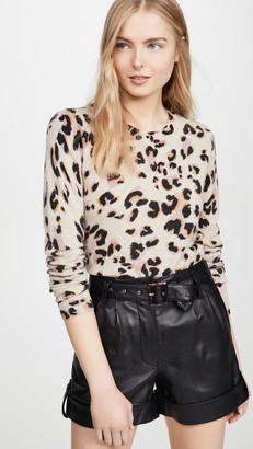 Naadam Leopard Cashmere Sweater