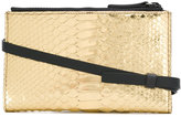 Brunello Cucinelli snakeskin effect crossbody bag