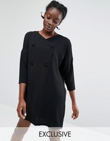 Monki Exclusive Tailored Blazer Dress