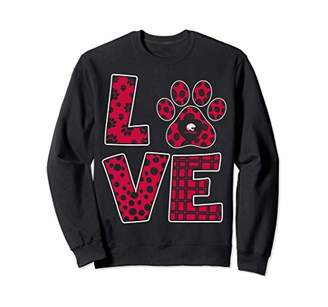 Tailgate South Alabama Jaguars Stacked Love Sweatshirt