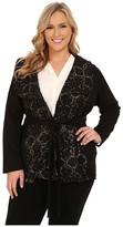 Kiyonna Boucle Wrap Coat