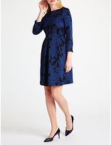 Marella Invermn Knitted Dress, Cornflower Blue