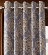 "MICHELE HOME FASHION 25 Sizes Available (Set of 1 panel) (50""W x 84""L) Top Room Darkening Thermal Insulating Blackout Curtain European Luxurious Window Treatment Draperies"