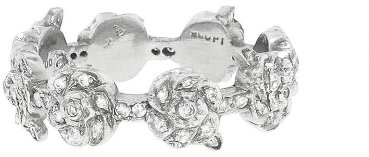 Cathy Waterman Rose Trellis Band - Designer Platinum Band