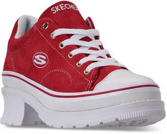 Skechers Women Street Cleats 2 - Heartbeats Casual Sneakers from Finish Line