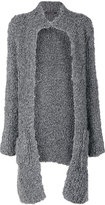 Incentive! Cashmere long sleeve cardi-coat