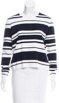 Frame Long Sleeve Striped Sweater