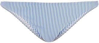 Onia Striped Print Bikini Bottoms