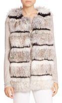 Calypso St. Barth Merveille Faux Fur Vest
