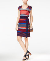 Tommy Hilfiger Jude Striped T-Shirt Dress, Only at Macy's