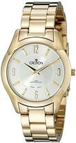 Croton Women's CN207501YLSL Heritage Analog Display Japanese Quartz Gold Watch