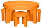 Orange Pop Table