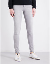 Calvin Klein Slim-fit mid-rise jeans