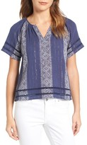 Lucky Brand Women's Peasant Top
