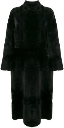 Rochas Fur Midi Coat
