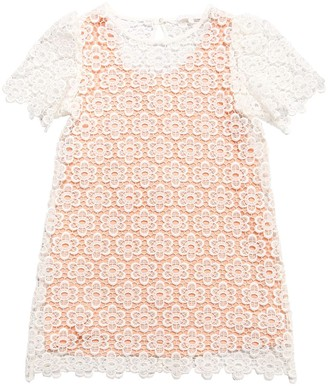 Chloé Floral Cotton Blend Dress