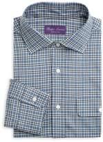 Ralph Lauren Purple Label Coop Plaid Sport Shirt