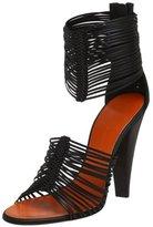 Women's E90050 Stripe Ankle Strap Sandal