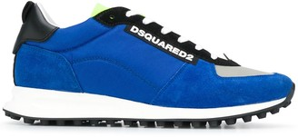 DSQUARED2 Suede Panel Sneakers