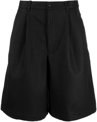 Comme des Garçons Shirt Wool Cargo Shorts
