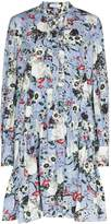 Erdem Quentin floral print flared dress