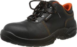 Base London B153-S3-T46 B153 Leather Shoe Engraved Smart S3-T46 Black