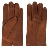 HUGO BOSS Vintage-style gloves in waxed leather