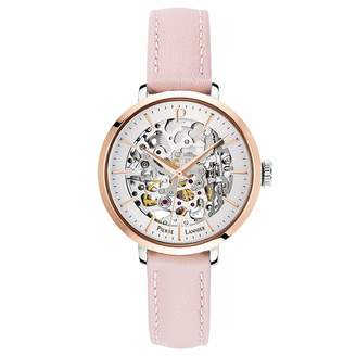 Pierre Lannier Womens Analogue Automatic Watch with Leather Strap 312B625