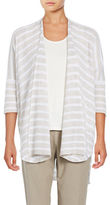 Eileen Fisher Striped Open Front Cardigan