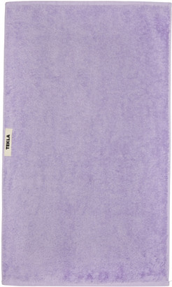 Tekla Purple Organic Hand Towel