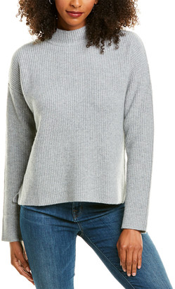 Revive Cashmere Mock Cashmere Sweater