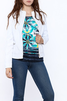 Tribal White Summer Jacket