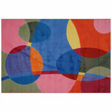 Asstd National Brand Groovy Dots Rectangular Rugs