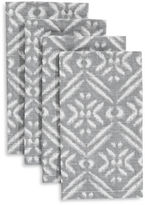 Distinctly Home Four-Piece Block Napkins Set
