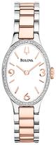 Bulova Analog Two-Tone Bracelet Watch