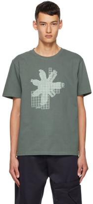 AFFIX Grey Circuit Board T-Shirt