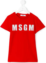 MSGM logo T-shirt - kids - Cotton - 8 yrs