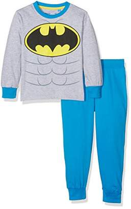 Batman Boy's Crest Pyjama Set