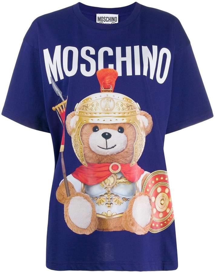 301f3d65cb teddy bear logo T-shirt