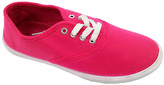 Fuchsia Lace-Up Sneaker