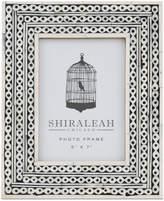 "Shiraleah Boheme Chain Inlay 5"" x 7"" Picture Frame"