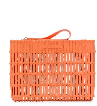 Mini Melissa Interwoven Basket Cross-Body Bag