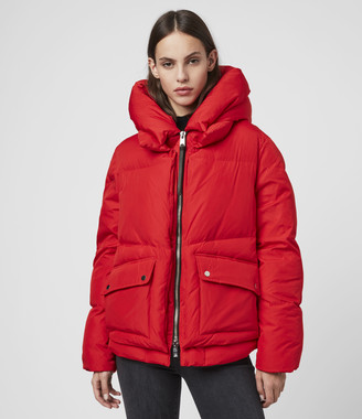 AllSaints Estee Puffer Coat