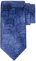 Stefano Ricci Paisley Tile Printed Silk Tie