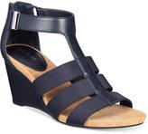Alfani Step 'N Flex Pearrl Wedge Sandals, Created for Macy's Women's Shoes