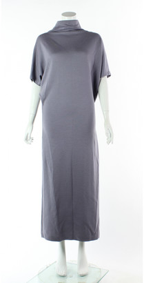 Bottega Veneta Silver Wool Dresses